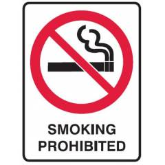Prohibition Signs
