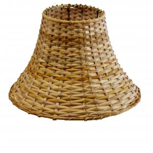 Lamp shades buy lamp shades online at best price in india aadhya creations ac tapered bamboo vessel lamp shade ac13ls008 mozeypictures Choice Image