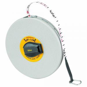 freemans 50 m fibreglass top line measuring tape ft50