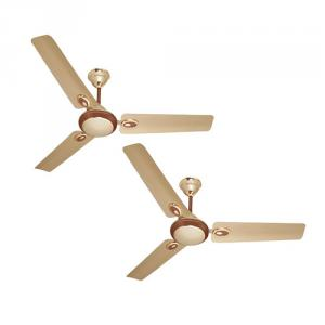 Ceiling fans buy ceiling fans online at best price in india urja lite 70w 1200mm golden brown aluminium wounded ceiling fan pack of 2 aloadofball Images